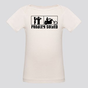 Problem Solved Organic Baby T-Shirt