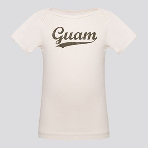 Vintage Guam Organic Baby T-Shirt