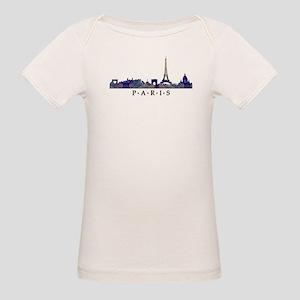 Mosaic Skyline of Paris France T-Shirt