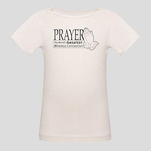 """""""Prayer"""" Organic Baby T-Shirt"""