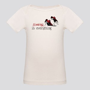 Timing Is Everything Organic Baby T-Shirt