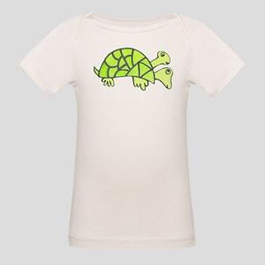 two-headed turtle Organic Baby T-Shirt
