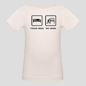 Fish Lover Organic Baby T-Shirt