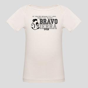 Bravo Sierra Avaition Humor Organic Baby T-Shirt
