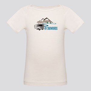 RV SNOWBIRDS Organic Baby T-Shirt
