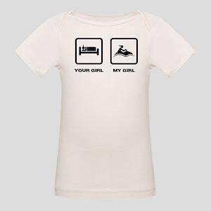 Jet Skiing Organic Baby T-Shirt