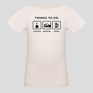 Mechanic Organic Baby T-Shirt