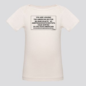 Leaving The American Sector Organic Baby T-Shirt
