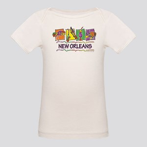 New Orleans Squares Organic Baby T-Shirt