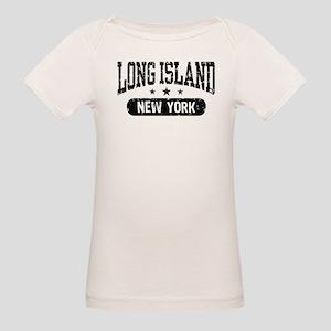 Long Island New York Organic Baby T-Shirt