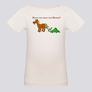 Have you seen this Horse? Organic Baby T-Shirt