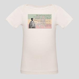 Haile Selassie Organic Baby T-Shirt
