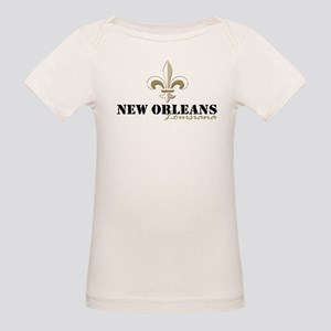 New Orleans Louisiana gold Organic Baby T-Shirt