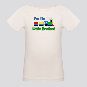 Little Brother TRAIN Organic Baby T-Shirt