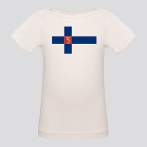 State Flag of Finland Organic Baby T-Shirt