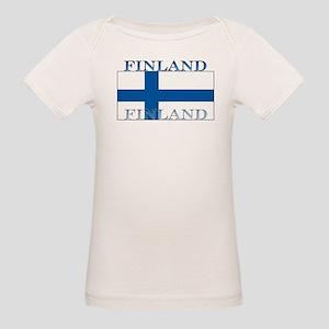 Finland Organic Baby T-Shirt
