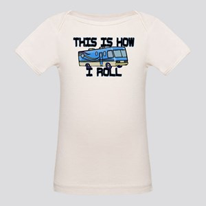 How I Roll RV Organic Baby T-Shirt
