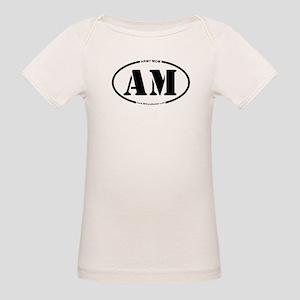 Army Mom (Oval) Organic Baby T-Shirt