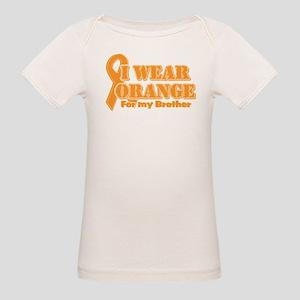 I wear orange brother Organic Baby T-Shirt
