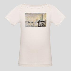 Claude Monet Westminster Bridge Organic Baby T-Shi