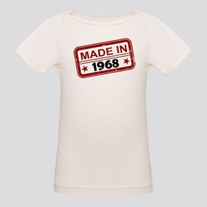 Stamped Made In 1968 Organic Baby T-Shirt