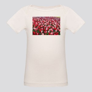 Red & Pink Tulips Holland Netherlands T-Shirt