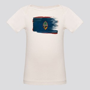 Guam Flag Organic Baby T-Shirt