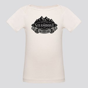 Steamboat Mountain Emblem Organic Baby T-Shirt