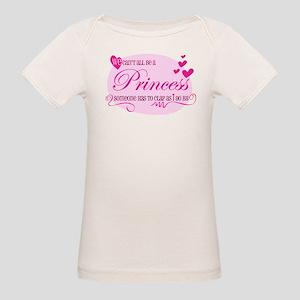 I'm the Princess Organic Baby T-Shirt
