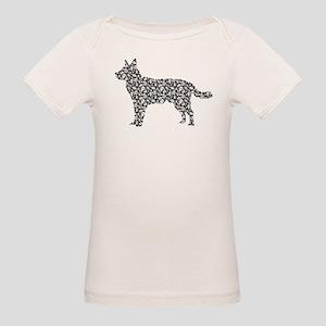 Australian Cattle Dog Organic Baby T-Shirt