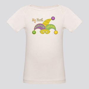 My First Mardi Gras Organic Baby T-Shirt