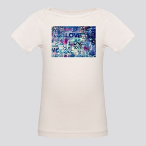 Abstract Love Painting T-Shirt