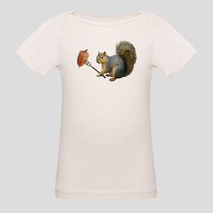 Squirrel Acorn Fork T-Shirt