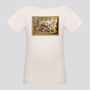 Victorian Courtship and Harp Music T-Shirt