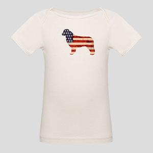Newfoundland Dog USA Organic Baby T-Shirt