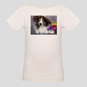 Happy Easter Organic Baby T-Shirt