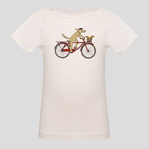 Dog & Squirrel Organic Baby T-Shirt