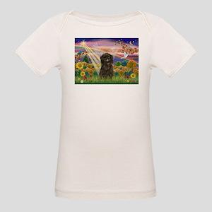 Autumn Angel /Affenpinscher Organic Baby T-Shirt