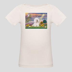 Cloud Angel & Bichon Organic Baby T-Shirt