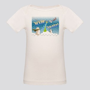 Holiday, happy Organic Baby T-Shirt