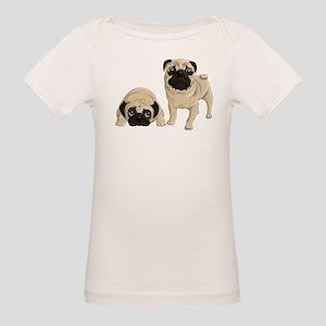 Pugs Organic Baby T-Shirt