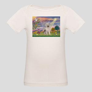 Cloud Star & Old English Organic Baby T-Shirt