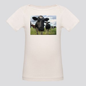 Heres Lookin At You Babe! Organic Baby T-Shirt