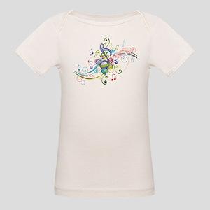 Music in the air Organic Baby T-Shirt