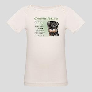 Miniature Schnauzer Organic Baby T-Shirt