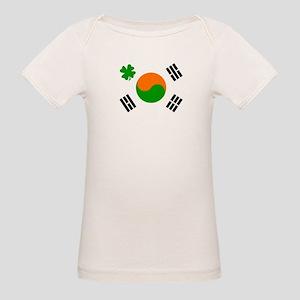 Irish/Korean Korean/Irish Organic Baby T-Shirt