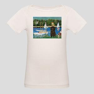 Sailboats & Affenpinscher Organic Baby T-Shirt