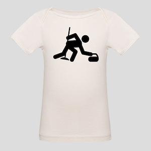 Curling Organic Baby T-Shirt