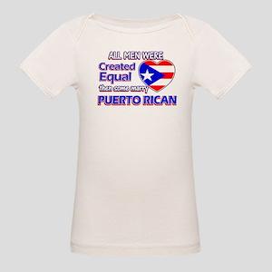 Puerto Rican Wife Designs Organic Baby T-Shirt