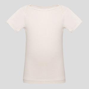Affenpinscher paw prints Organic Baby T-Shirt